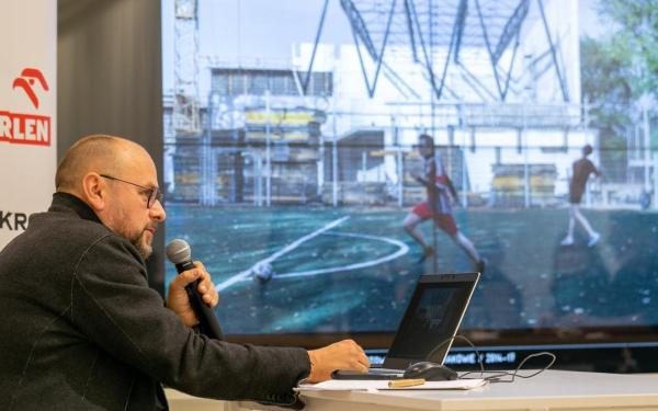 Marcin Brataniec o hali sportowej ZSOMS w Krakowie [FILM]