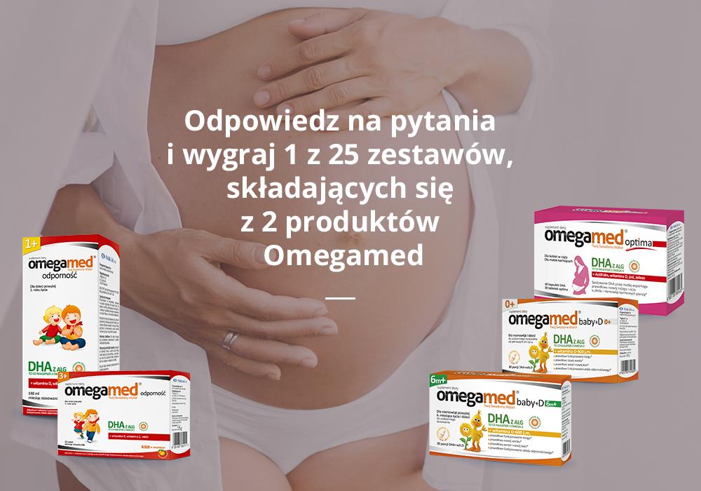 Wygraj produkty Omegamed